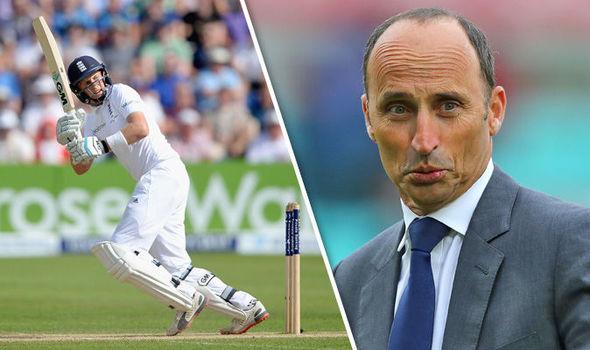 Joe Root, England Test cricket captain, and Nasser Hussain
