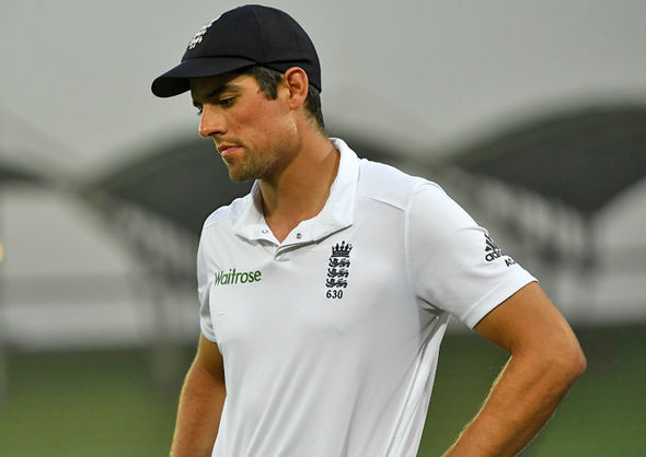 Alastair Cook England batsman