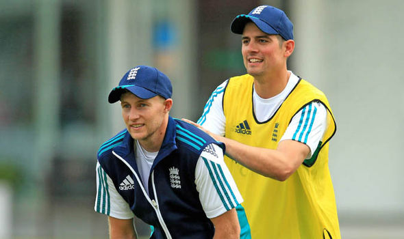 Joe Root Alastair Cook