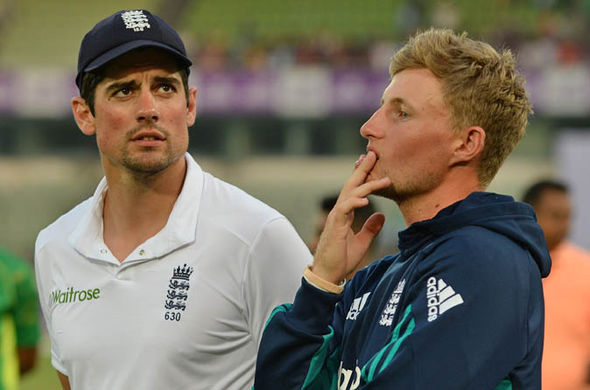 Joe Root will take over from Alastair Cook