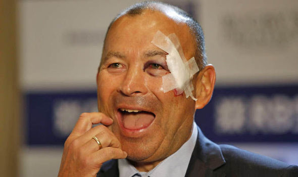 Eddie Jones at Six Nations launch