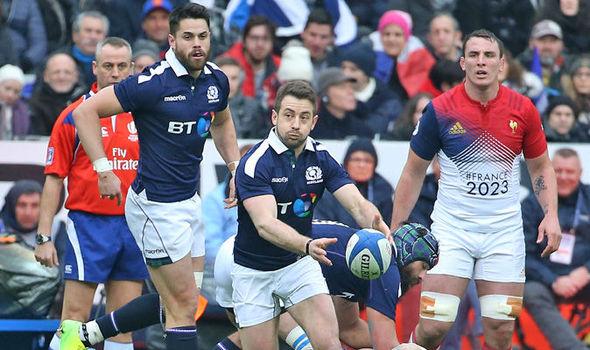 Greig Laidlaw Scotland Six Nations captain