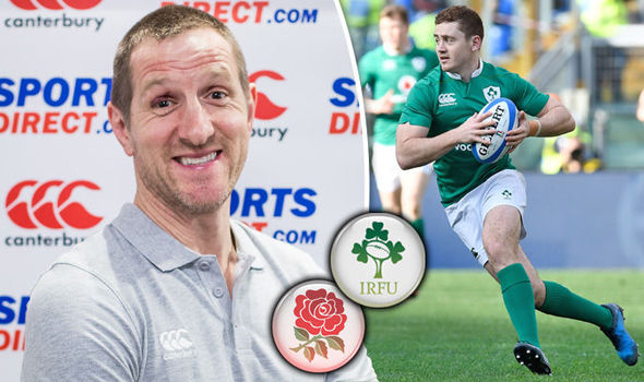 Six Nations England veteran Will Greenwood and IReland rugby player Paddy Jackson