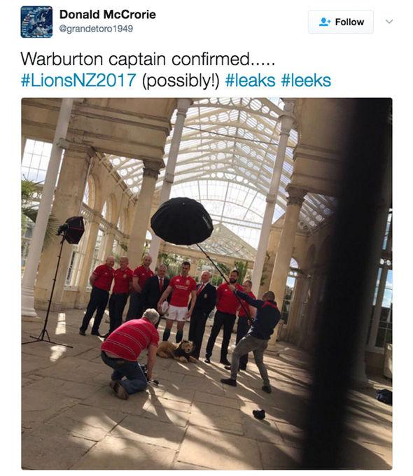 British & Irish Lions 2017 captain Sam Warburton