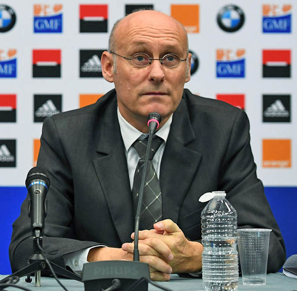 French Federation boss Bernard Laporte