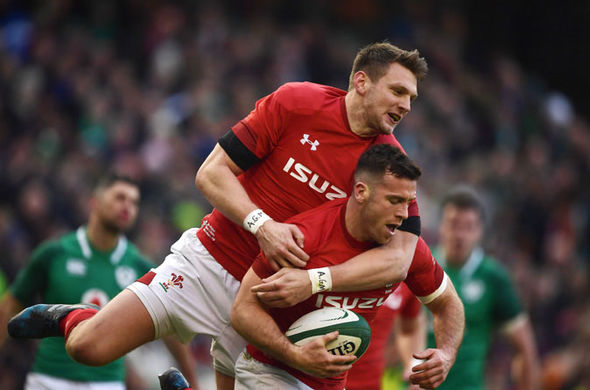 Gareth Davies  Six Nations 2018 LIVE, Ireland vs Wales: Latest reaction as Irish hang on to win | Rugby Union | Sport Gareth Davies 1245944