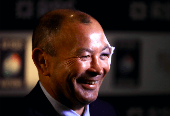 Eddie Jones black eye pictures
