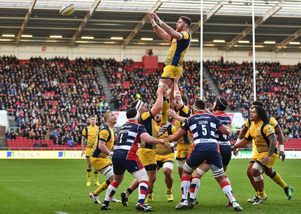 Just two points seperate Worcester and Bristol at the bottom of the table
