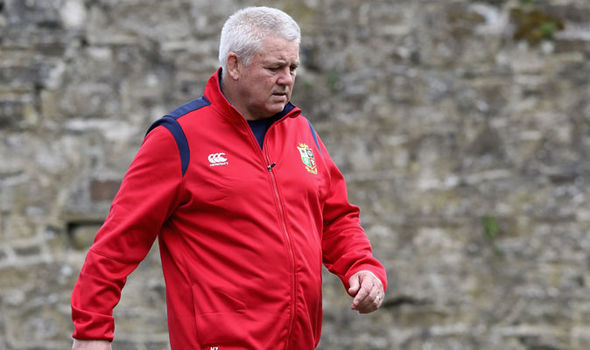 Lions boss Warren Gatland expects a rough time from rival supporters