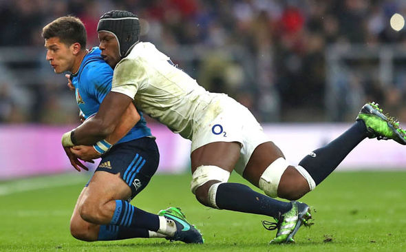 Maro Itoje has impressed after being moved to the second row