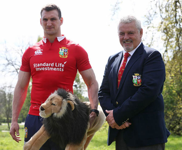 Sam Warburton is now only the second player to captain two Lions tours