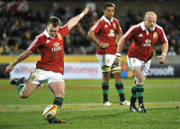 Stuart Hogg in British & Irish Lions action