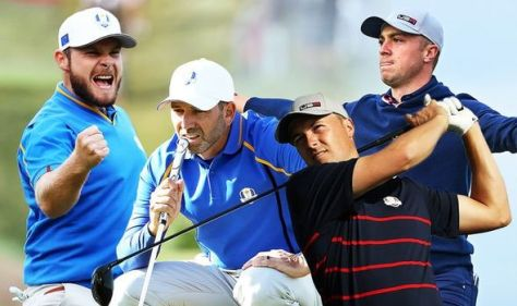 Ryder Cup LIVE: Saturday score updates as Europe look to claw back USA's 6-2 lead
