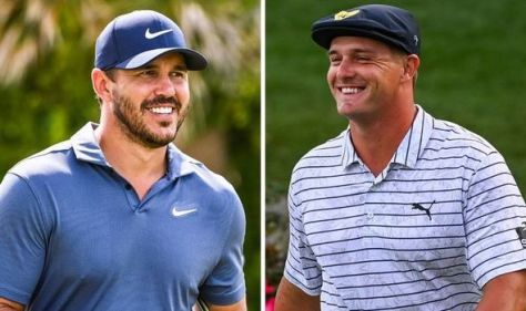 Brooks Koepka and Bryson DeChambeau set new chapter in rivalry with 'The Match' confirmed