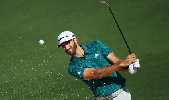 Masters golf Dustin Johnson