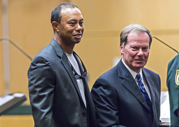 Tiger Woods guilty plea