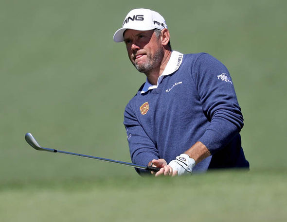 Westwood finished the day three-over-par