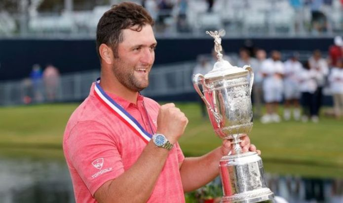 Jon Rahm wins US Open in tense final round with epic finish as Rory McIlroy falters