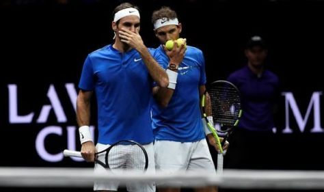 Rafael Nadal sends Roger Federer doubles request as pair continue injury recovery