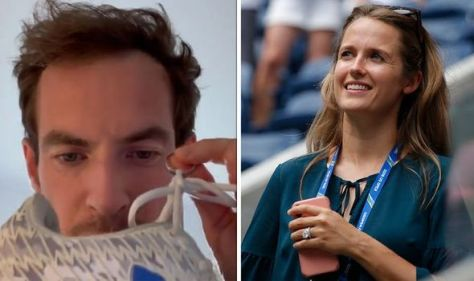 Andy Murray says he's 'back in the good books' with wife Kim after finding wedding ring