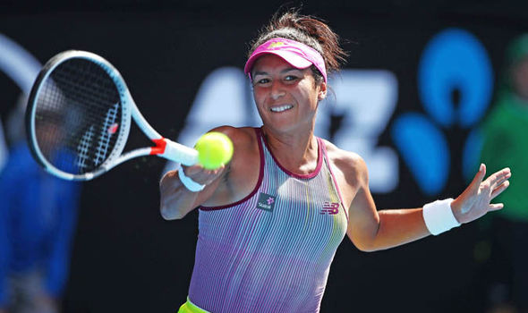 Australian Open Heather Watson Samantha Stosur 6 3 3 6 6 0 Jennifer Brady Maryna Zanevska