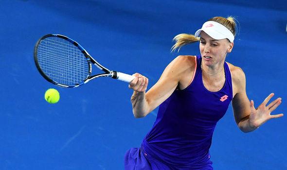 Naomi Broady Daria Gavrilova Australian Open first round first Brit exit