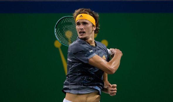 Alexander Zverev Reacts To Roger Federer Shanghai Masters
