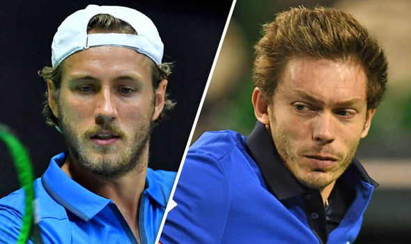 Davis Cup 2017 France v GB