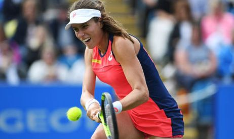 Image result for Johanna Konta Beats Jelena Ostapenko at Rogers Cup in Montreal