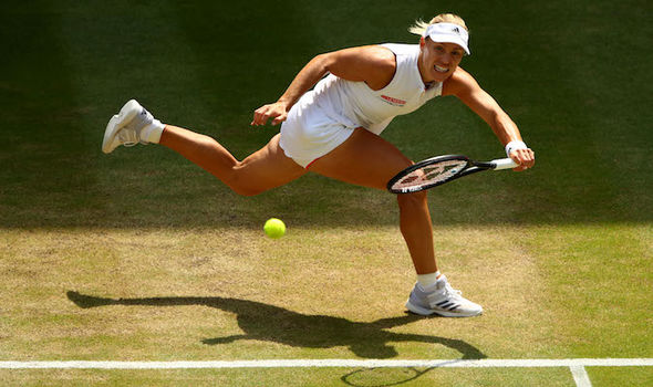 Angelique Kerber at Wimbledon