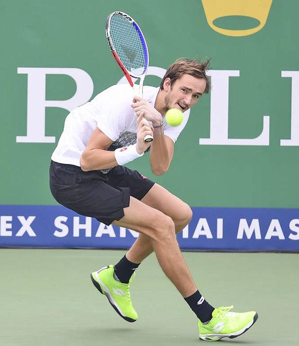 Daniil Medvedev has never faced Roger Federer before
