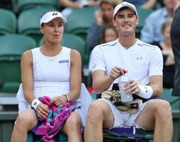 Jamie Murray and Martina Hingis will be up against Heather Watson and Henri Kontinen