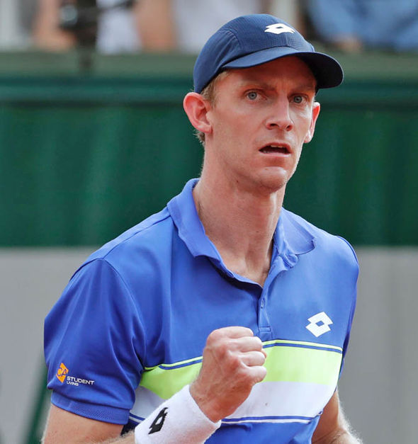 Kyle Edmund will meet Kevin Anderson in the third round