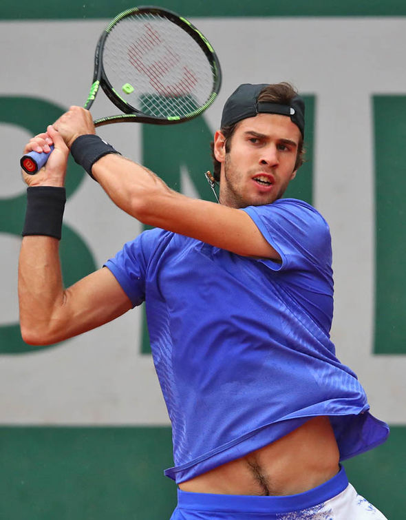 Next up for Andy Murray is world No 53 Karen Khachanov