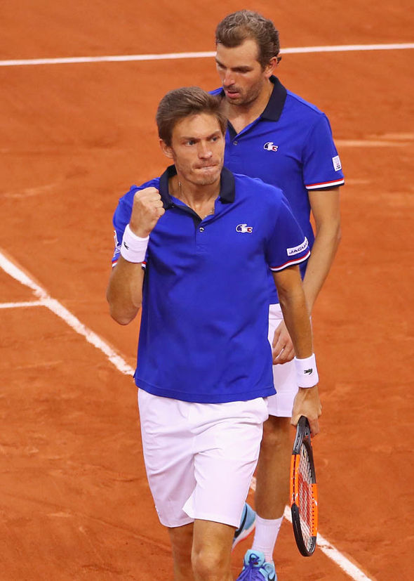 Nicolas Mahut and Julien Benneteau