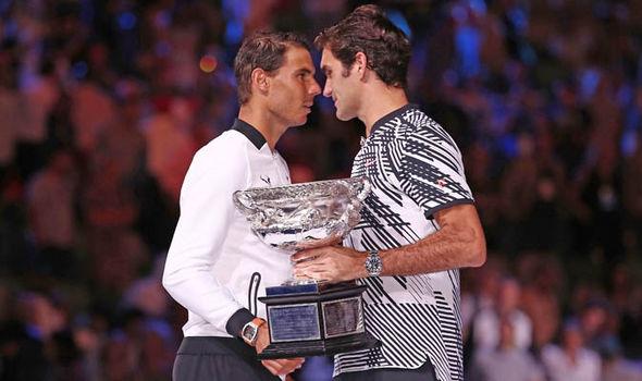 Rafa Nadal Roger Federer