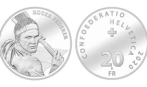 Roger Federer fans took Swissmint website down to order RF coin