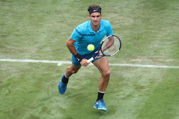 Roger Federer Stuttgart Open results scores