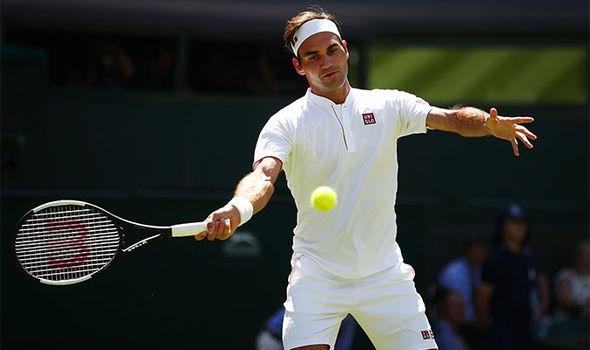 Roger Federer Beats Dusan Lajovic To Kick Start Wimbledon