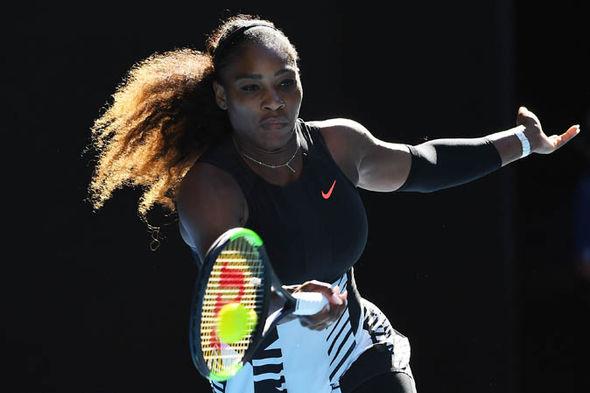 Serena Williams at the Australian Open 2017