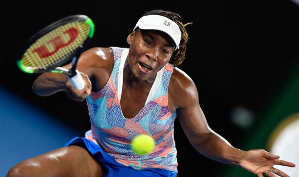 Venus Williams  Australian Open 2018 results LIVE: Latest scores as Roger Federer and Novak Djokovic win | Tennis | Sport Venus Williams 1195372