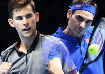 Roger Federer contra Dominic Thiem EN VIVO: Federer gana el primer set en un crucial choque de finales ATP | Tenis | Deporte