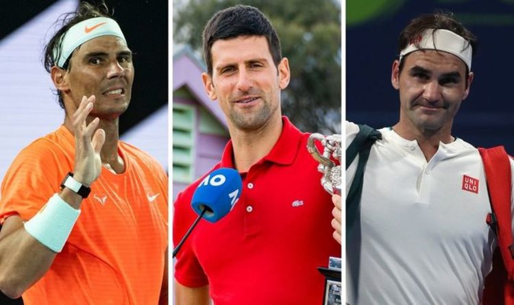 Rafael Nadal, Roger Federer and Novak Djokovic to play first event together in 14 months