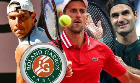 French Open draw: Rafael Nadal, Roger Federer and Novak Djokovic all in the same half