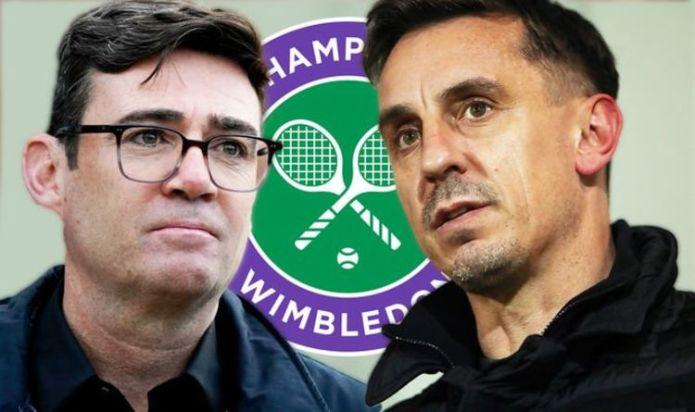 Wimbledon chief hits back at Gary Neville and Manchester mayor Andy Burnham
