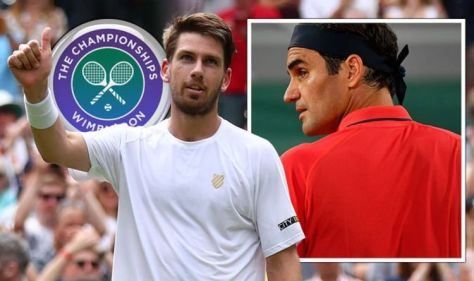 'Come on Gasquet' - Cameron Norrie jokes about backing Roger Federer Wimbledon exit