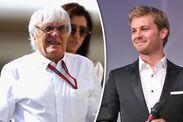 Bernie Ecclestone Nico Rosbergs retirement Lewis Hamilton revenge