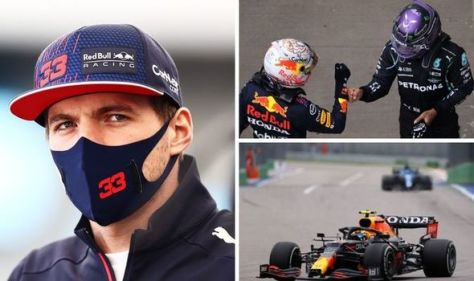 Max Verstappen weighs in on Lewis Hamilton penalty decision