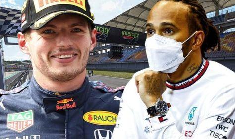 Lewis Hamilton penalty confirmed for Turkish Grand Prix in major Max Verstappen boost
