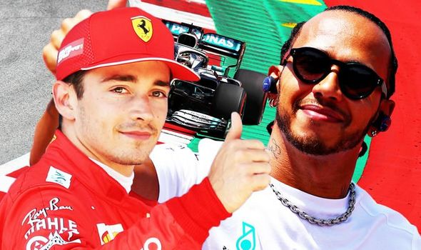 Austrian Grand Prix LIVE: Lewis Hamilton starts in fourth after penalty, Leclerc on pole
